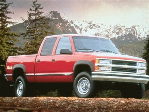 1999 Chevrolet 2500 Crew Cab Pricing Ratings Reviews Kelley
