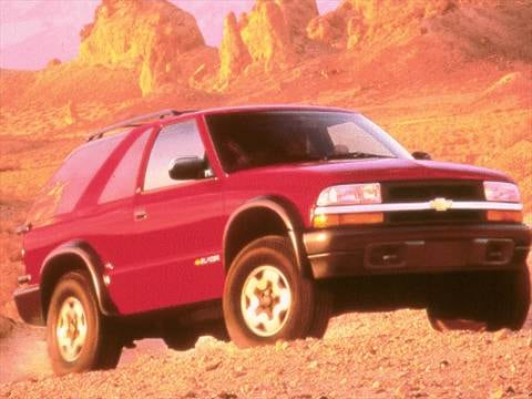 1999 Chevrolet Blazer Pricing Ratings Reviews Kelley Blue Book