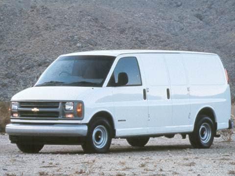 92acaf72ca57c6 1999 Chevrolet Express 2500 Cargo