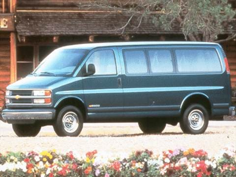 1999 Chevrolet Express 3500 Passenger Van  photo