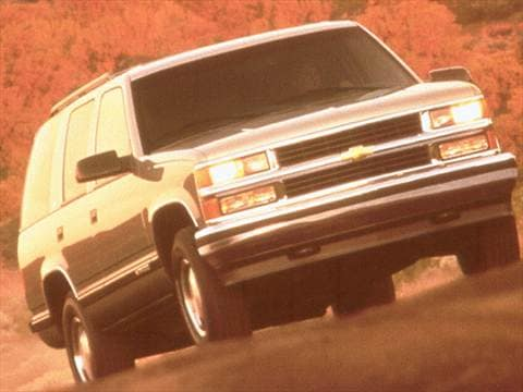 1999 chevrolet tahoe dimensions