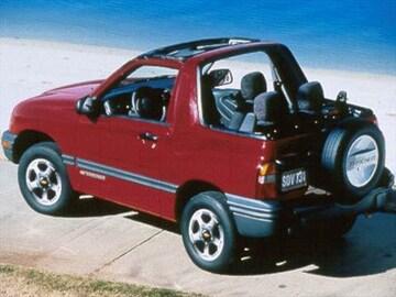 1999 Chevrolet Tracker Exterior