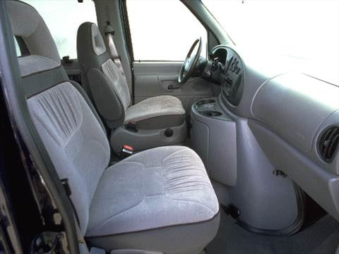 1999 ford econoline e350 super duty passenger Interior