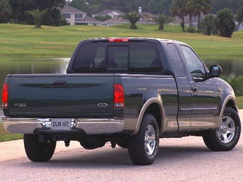 1998 ford f-150 super cab configurations