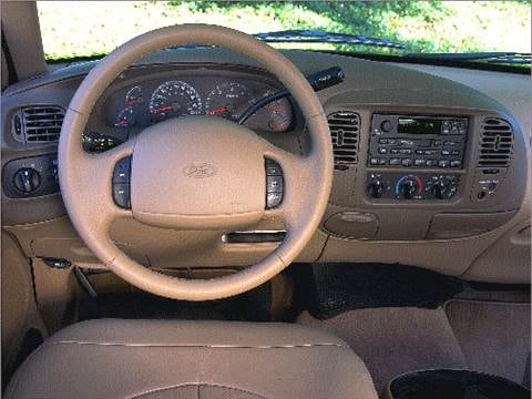 1999 ford f250 super cab Interior