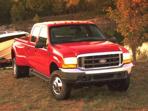 1999 Ford F350 Super Duty Crew Cab Short Bed  photo