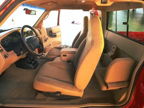 1999 ford ranger super cab Interior