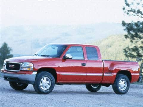 1999 gmc sierra 2500 extended cab Exterior