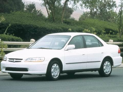 1999 Honda Accord DX Sedan 4D  photo