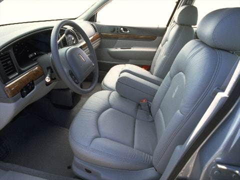 1999 lincoln continental Interior