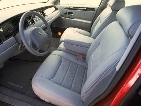 1999 lincoln town car Interior