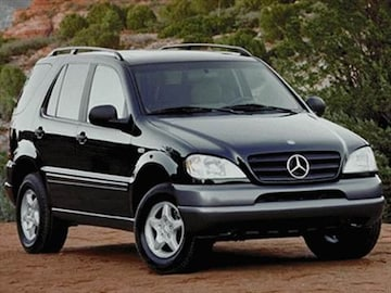 1999 mercedes benz m class pricing ratings reviews. Black Bedroom Furniture Sets. Home Design Ideas