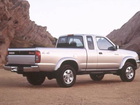 1999 nissan frontier king cab Exterior