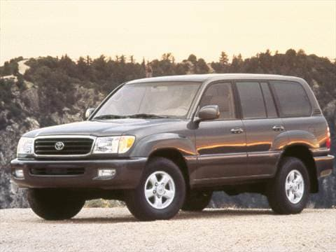 1999 Toyota Land Cruiser Sport Utility 4D  photo