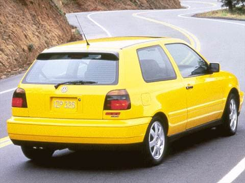 1999 Volkswagen Golf GTI VR6 Hatchback 2D  photo