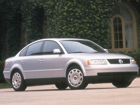 1999 Volkswagen Passat GLS Sedan 4D  photo