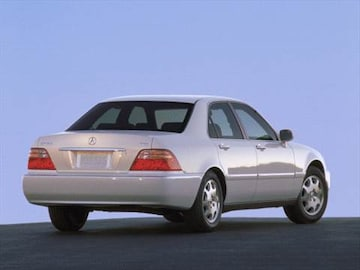 Acura RL Pricing Ratings Reviews Kelley Blue Book - 2000 acura rl for sale