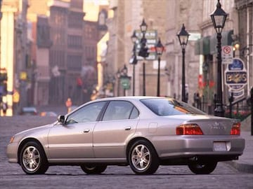 Acura TL Pricing Ratings Reviews Kelley Blue Book - 2000 acura tl transmission price