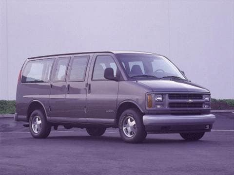 2000 Chevrolet Express 2500 Passenger Van  photo