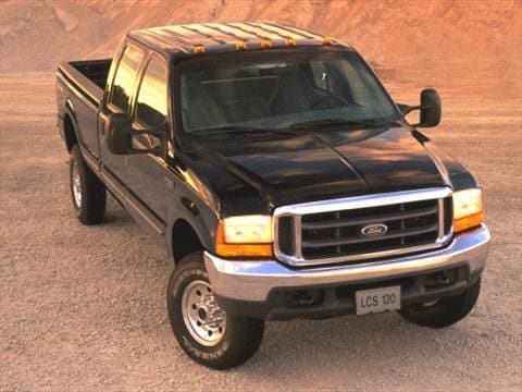 2000 Ford F250 Super Duty Crew Cab Short Bed  photo