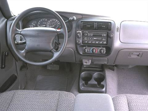 2000 ford ranger super cab Interior