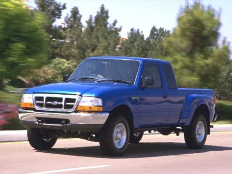 1996 ford ranger pickup truck gas mileage
