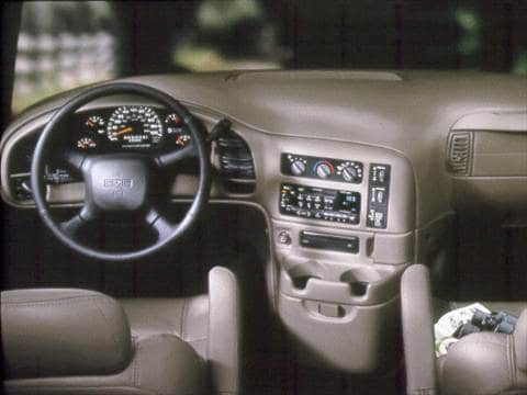 2000 gmc safari cargo Interior