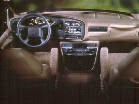 2000 gmc savana 3500 cargo Interior