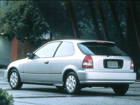 2000 Honda Civic CX Hatchback 2D  photo