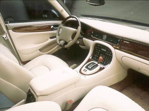 2000 jaguar xj Interior