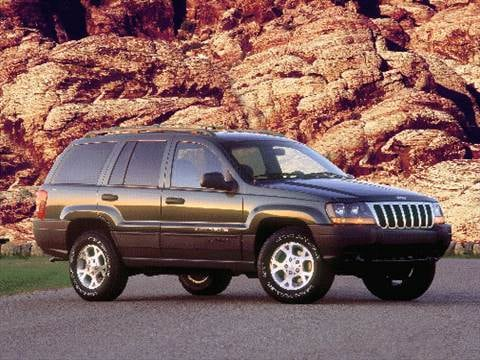 2000 Jeep Grand Cherokee. 16 MPG Combined