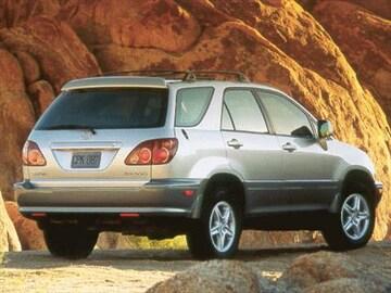 2000 Lexus Rx Exterior