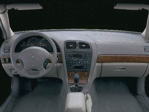 2000 lincoln ls Interior