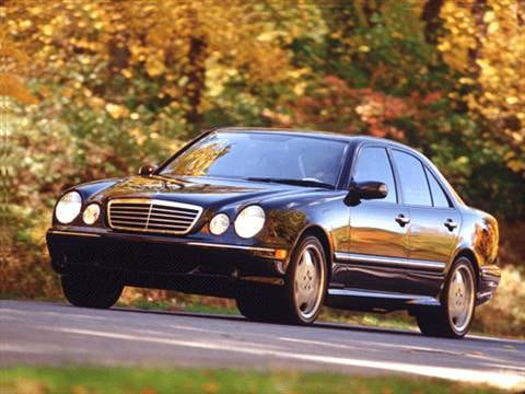 2000 Mercedes-Benz E-Class E55 AMG Sedan 4D  photo