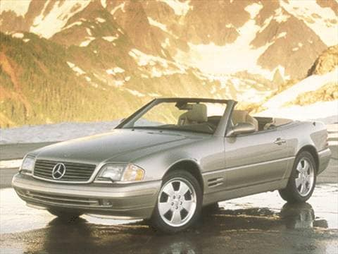 2000 Mercedes-Benz SL-Class SL500 Roadster 2D  photo