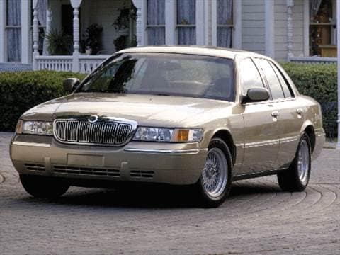 2000 mercury grand marquis Exterior