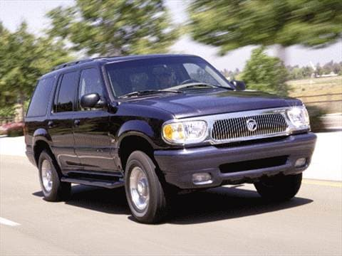 2000 mercury mountaineer pricing ratings reviews. Black Bedroom Furniture Sets. Home Design Ideas
