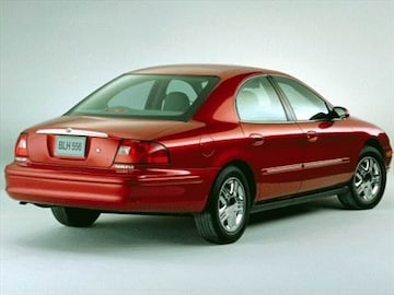 2000 mercury sable pricing ratings reviews kelley. Black Bedroom Furniture Sets. Home Design Ideas