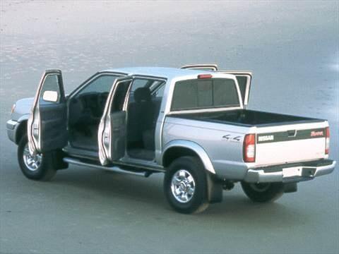 Wonderful ... 2000 Nissan Frontier Crew Cab Exterior