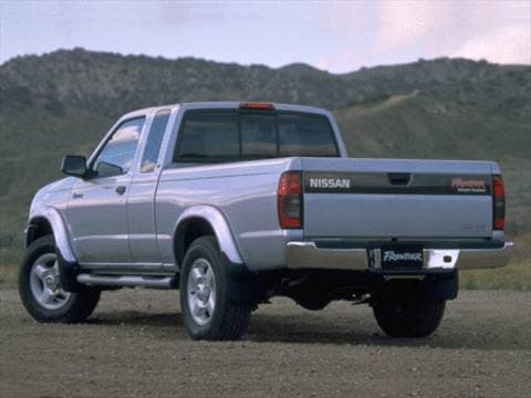 2000 nissan frontier king cab Exterior