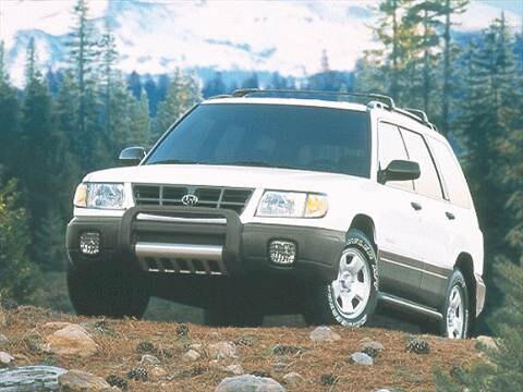 2000 Subaru Forester Pricing Ratings Reviews Kelley Blue Book