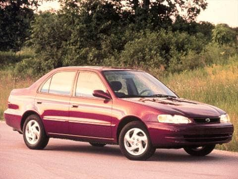 2000 Toyota Corolla Pricing Ratings Reviews Kelley Blue Book