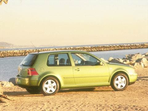 2000 Volkswagen GTI GLS Turbo Hatchback 2D  photo