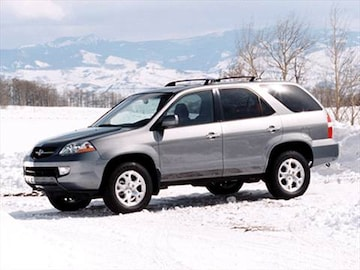 2001 Acura MDX | Pricing, Ratings & Reviews | Kelley Blue Book