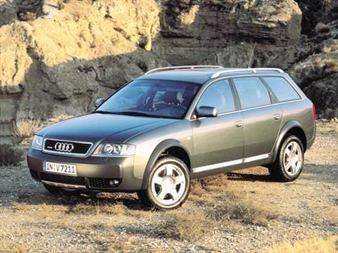 2001 Audi Allroad Pricing Ratings Amp Reviews Kelley