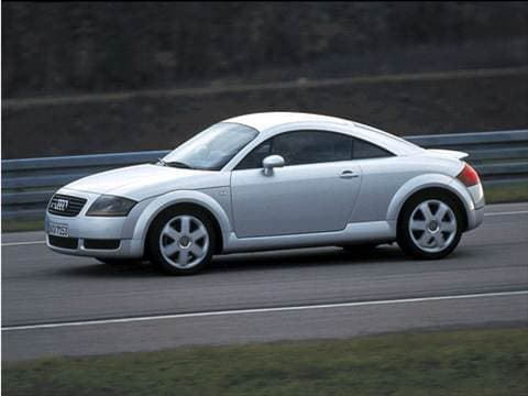 Audi TT Pricing Ratings Reviews Kelley Blue Book - 2001 audi