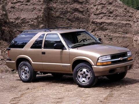 2001 Chevrolet Blazer Pricing Ratings Reviews Kelley Blue Book