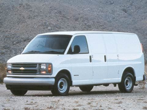 2001 Chevrolet Express 3500 Cargo Van  photo