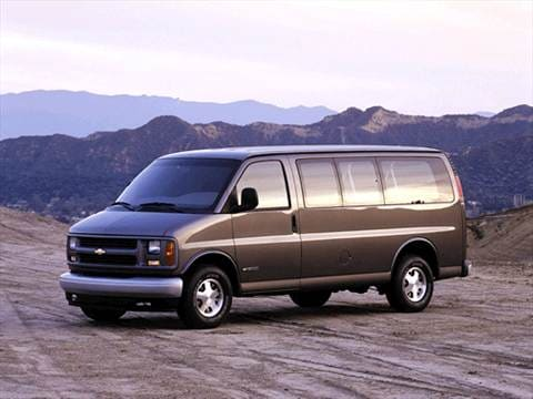 2001 Chevrolet Express 3500 Passenger Van  photo