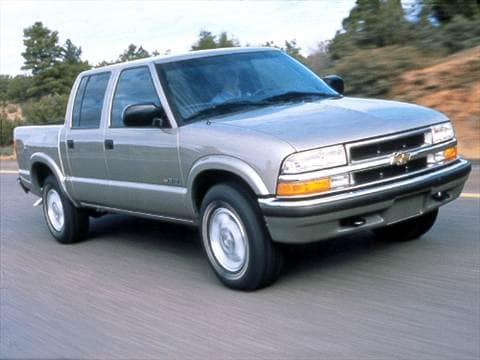 2001 chevrolet s10 crew cab pricing ratings reviews kelley blue book. Black Bedroom Furniture Sets. Home Design Ideas
